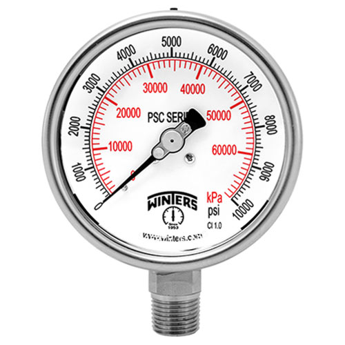 PSC SAFETY CASE PRESSURE GAUGE Image
