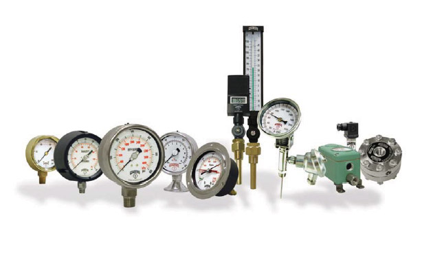 winters pressure gauges