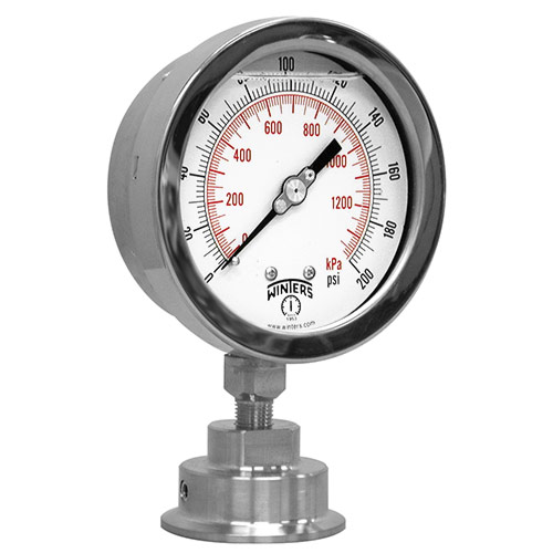 PSI INDUSTRIAL SANITARY GAUGE ASSEMBLY Image